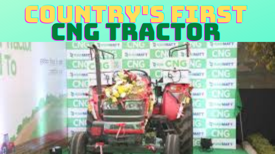 "CNG Tractor will make Country's Farmers ""Atmnirbhar,"" Says Nitin Gadkari I"