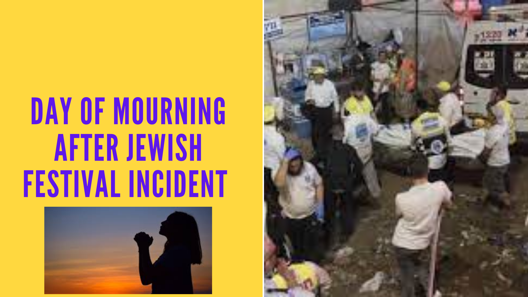 Day of mourning after Jewish Festival incident