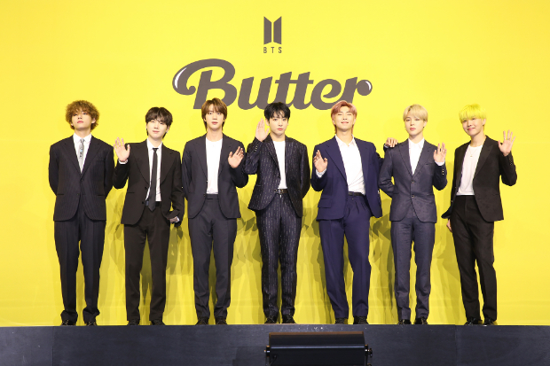 BTS makes history with 'Butter', becomes first Asian act to claim No. 1 spot on Billboard Hot 100 for 4 consecutive weeks : Bollywood News