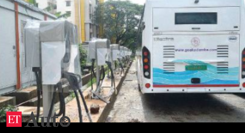 Kadamba Transport Corporation's electric buses get charging station at Margao, Auto News, ET Auto